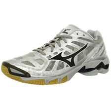 Mizuno Women's Wave Lightning RX2 Volleyball Shoe, Silver/Black