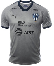 Monterrey Rayados Third - Gray Jersey 2017 - 2018 Local Liga MX