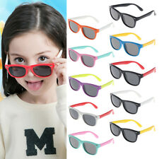Silicone Safety Software Polarized Children Sunglasses Baby Glasses UV400 S