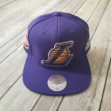 NBA Mitchell And Ness Los Angeles Lakers Snapback |  NBA Finals 2008