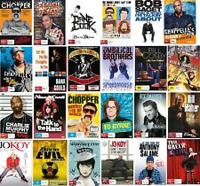 comedy, comedians DVD Variations Lot Brand New Pick From Dropdown Menu