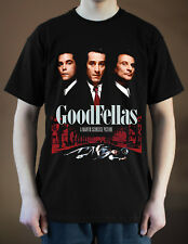GOODFELLAS Movie poster ver. 2 Robert De Niro T-Shirt (Black) S-5XL