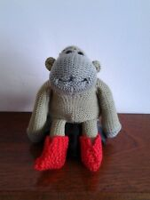 HAND KNITTED PG TIPS MONKEY/CHIMP BOOTS.