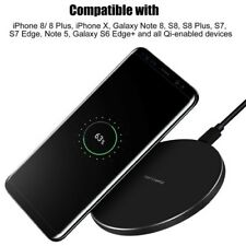 Samsung Wireless S9 S8 Power Charger Pad Galaxy Charging Qi Plus Portable Dock