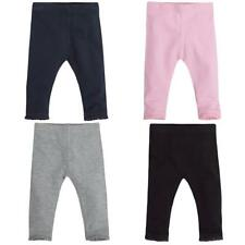 Babies / Girls Leggings with Lace Trim Ankle ~ 0 - 24 Months