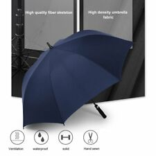 Automatic Super Large Umbrella Long Straight Handled Strong Windproof N6