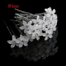 20pcs/lot Flower Crystal Rhinestone Hairpins Hair Clips Women Wedding Bridal