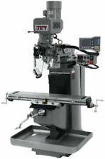 JET 690510 JTM-949EVS Mill 3-Axis Acu-Rite VUE DRO X-Axis Powerfeed