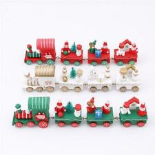 Mini Christmas Train Wooden Toy, Christmas Decoration, Innovative Gift For Kids