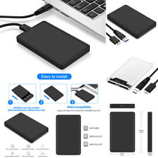 "USB 3.0 SATA External 2.5""inch HDD SSD Hard Drive Enclosure Mobile Disk Case Box"