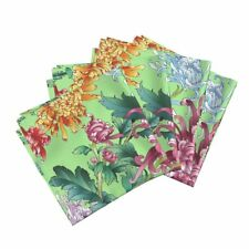 Acid Blooming Wonderful Silk Solar Cotton Dinner Napkins by Roostery Set of 4