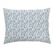 Lavanda Lavender Lavander France French Field Provence Pillow Sham by Roostery