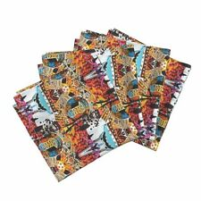 Home Decor Home Sweet Home Lady Bugs Cotton Dinner Napkins by Roostery Set of 4