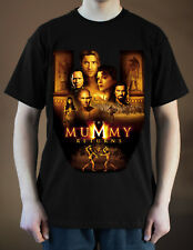 THE MUMMY RETURNS Movie Poster ver. 1 Rachel Weisz T-Shirt (Black) S-5XL
