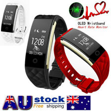 Waterproof Bluetooth Smart Watch Heart Rate Track Band For Android IOS Phone S2