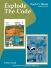 Explode the Code Book, Teacher's Guide for Books 5 and 6-ExLibrary