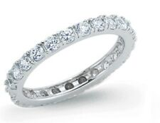Sterling Silver CZ  Ring Many Sizes Fast Dispatch