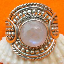 925 Sterling Silver Rainbow  Moonstone Ring,  Moonstone, Jaipur Rainbow Ring