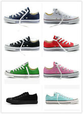 Women Man ALL STARs Chuck Taylor Ox Low Top shoes casual Canvas Sneakers EUR 45