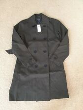 NWT Abercrombie & Fitch Womens Classic Trench Coat Oliver Size: Small