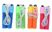 Jump Skipping Ropes Counter Rope Skipping Cotton Sponge Handle Fitness Exercise