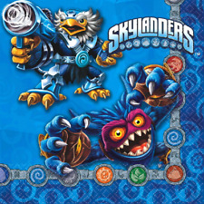 Skylanders Evergreen Birthday Party Lunch Napkins 16 Pack
