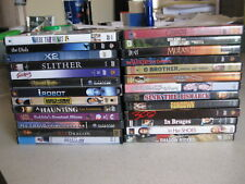 Movie Night! 25 DVDs Pick and Choose horror, comedy, romance, family, drama, etc