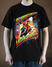 LAST ACTION HERO Movie Poster ver. 1 Arnold Schwarzenegger T-Shirt (Black) S-5XL
