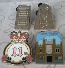 United Kingdom Collection 2011 Hidden Mickey WDW Disney Pin Make a Set Lot