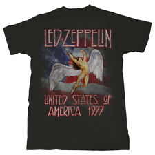Led Zeppelin - U.S.A. 1977 - Adult T-Shirt - NEW!