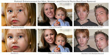 Photo Retouching Services Portrait Retouch Fix Red Eye Correction Touch UP PHOT1