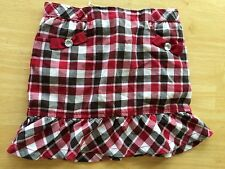 NWT Gymboree Holiday Tradition SZ 8 Plaid Skort Skirt Girls