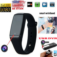 Mini 1080P HD SPY Cam DVR Hidden Camera Wristband Watch Video Recorder for Win 7