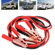 Booster Jumper Cables Emergency Battery Start Motorcycle Car