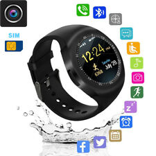 Y1 Waterproof Bluetooth Smart Watch Camera SIM For Android*IOS*iPhone*Samsung*LG