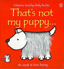 Baby / Toddler Touchy Feely Book - THAT'S NOT MY PUPPY by Fiona Watt - NEW