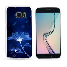 Fancy Blue Pattern Phone Case Cover for Samsung Galaxy S8 S7 Edge J7 Welcome