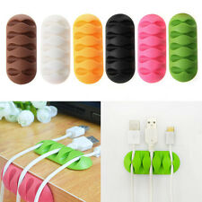 Winder Earphone Cable Organizer Wire Storage Silicon Charger