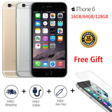 "Apple iPhone 6 - 16GB 64GB 128GB GSM ""Factory Unlocked"" Smartphone All Colors!"