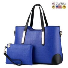 NEW Ciacco Crocodile Pattern Leather Handbag Premium Tote Shoulder Women Bag Wom