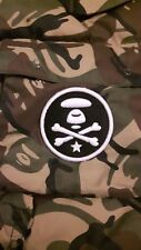 Rare 100% Authentic Men's Bathing Ape AAPE Camo hooded vest jacket New with Tags