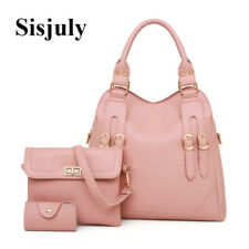 3pcs Set Causal Leather Women Composite Bags Drop Shipping Buckle Fashion