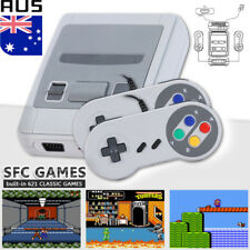 621 Games in SFC Classic Game Console For NES Retro TV HDMI Gamepads Nintendo AU