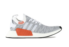 Adidas Originals Mens NMD R2 PK Primeknit Fashion Sneakers BY9410 White