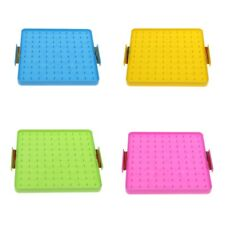 Plastic Nail Board Plate Toy Preschool Mathematics Learning Toy for Kids