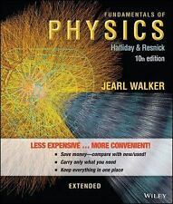 Fundamentals of Physics Extended by Halliday,  Resnick 10th Edition Loose-leaf
