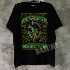 Metallica worldwired tour GRAND FORKS,ND Event Poster Concert Tee Gildan T shirt