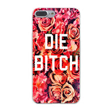 Boss Bitch Die Rose Pink Flower Hard Cover Case For iPhone 10 Galaxy Huawei New