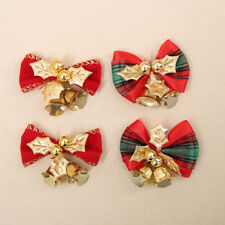 Glitter Bow Bowknot Christmas Tree Party Gift Present Xmas Decoration Ornaments