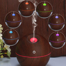 Cool Mist Ultrasonic LED Humidifier Aroma Aromatherapy Essential Oil Diffuser KK